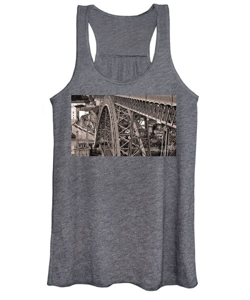 Bridge Construction Women's Tank Top