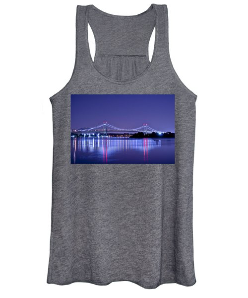 Tri-borough Bridge In Nyc Women's Tank Top