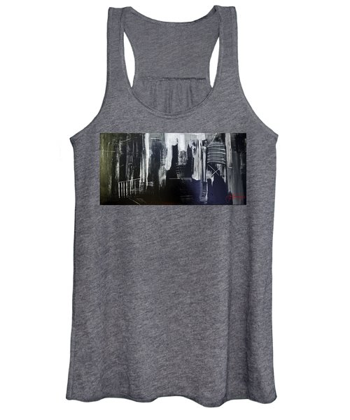 City Abstract Women's Tank Top