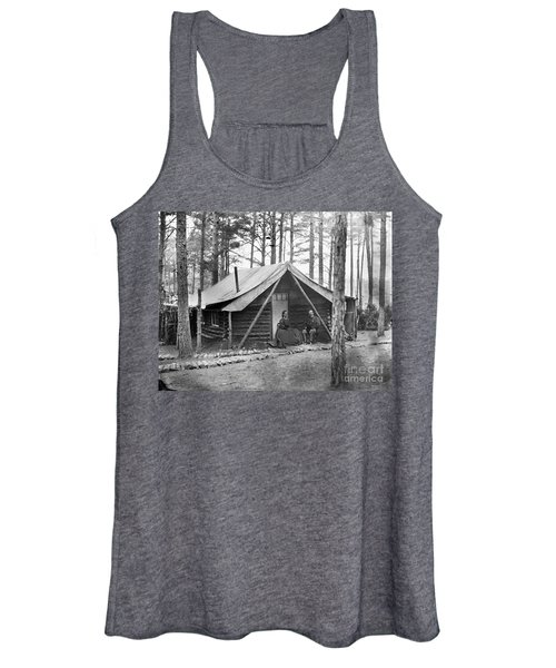 Civil War: Log Cabin, 1864 Women's Tank Top