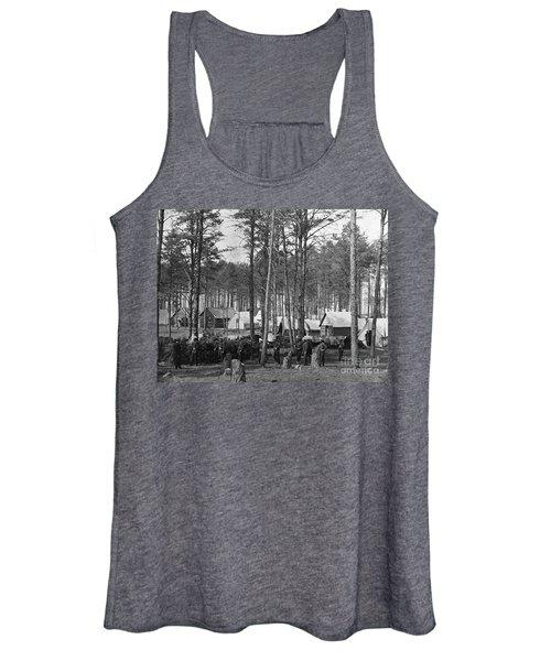 Civil War: Union Camp, 1864 Women's Tank Top