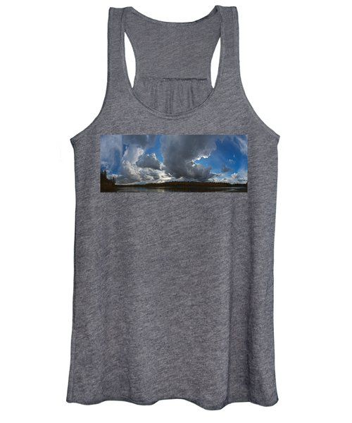 Clouds And River Edmonton Women's Tank Top