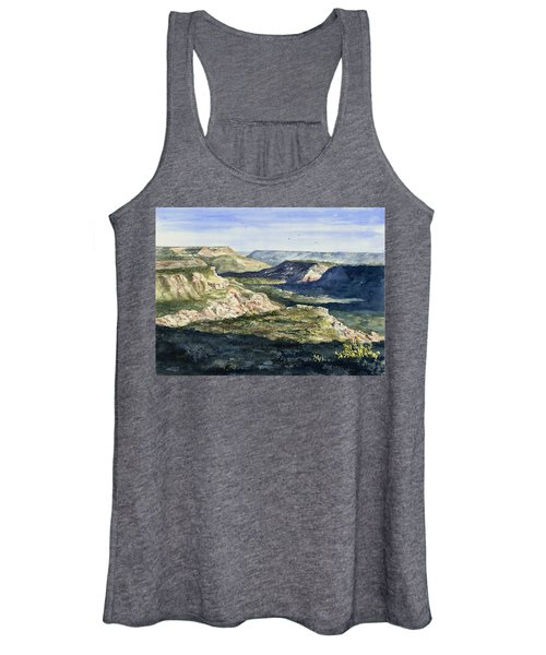 Evening Flight Over Palo Duro Canyon Women's Tank Top