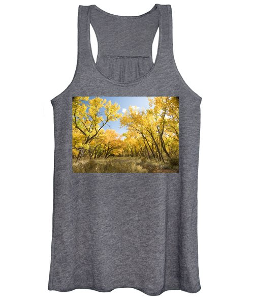 Fall Leaves In New Mexico Women's Tank Top