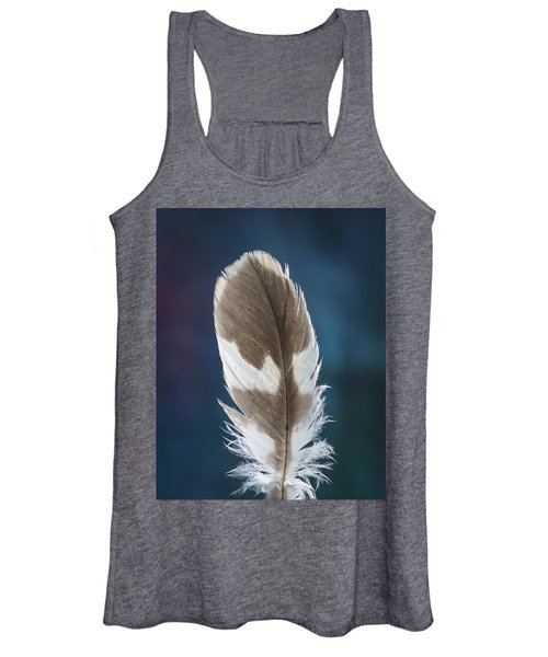 Feather Design Women's Tank Top