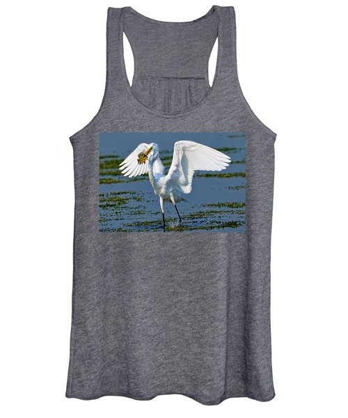 Fish'n In The Morning Women's Tank Top