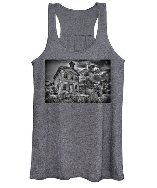 Gothic Masonic Temple - Bannack Ghost Town Women's Tank Top