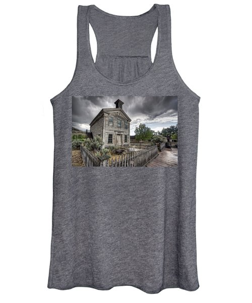 Gothic Masonic Temple 2 - Bannack Ghost Town Women's Tank Top