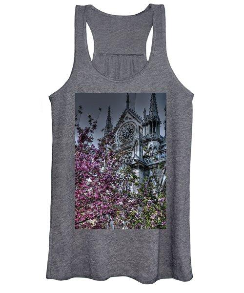 Gothic Paris Women's Tank Top