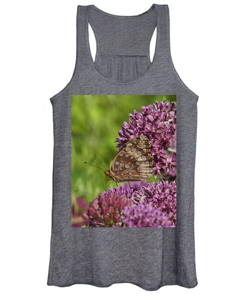 Great Spangled Fritillary Din194 Women's Tank Top