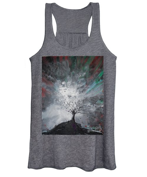 Haunted Tree Women's Tank Top