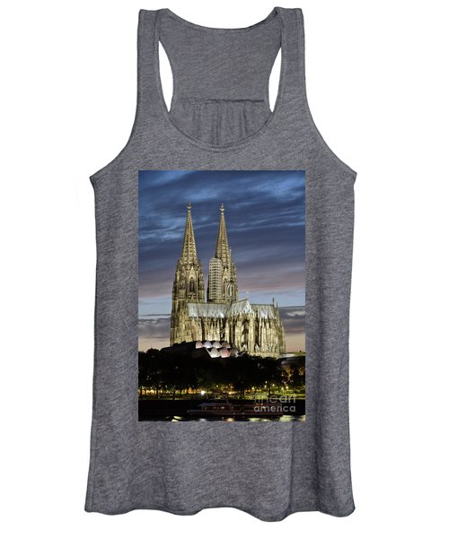 High Cathedral Of Sts. Peter And Mary In Cologne Women's Tank Top