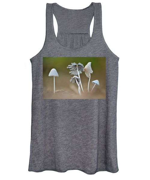 Ink-cap Mushrooms Women's Tank Top