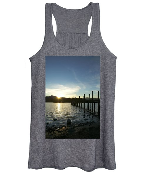Lake District Sunset Women's Tank Top
