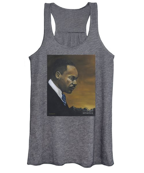 Martin Luther King Jr - From The Mountaintop Women's Tank Top