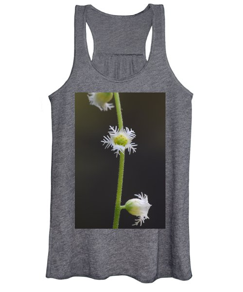 Miterwort Flowers Women's Tank Top