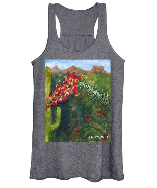 Ocotillo Spring Women's Tank Top