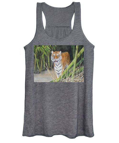 On The Prowl  Sold Prints Available Women's Tank Top