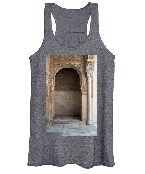 Ornate Arch And Pillar Women's Tank Top