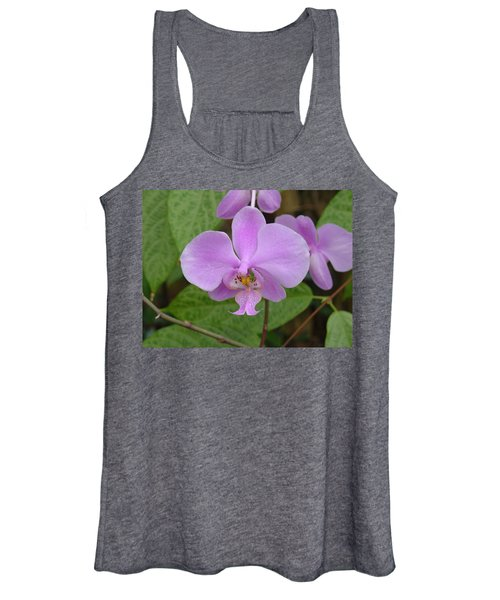 Pale Pink Orchid Women's Tank Top