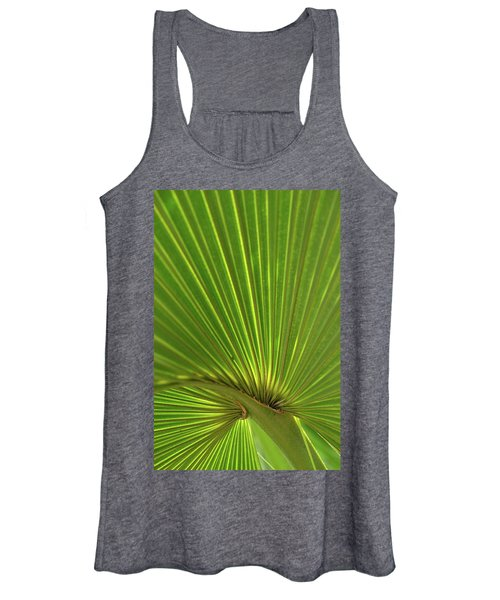 Palm Leaf Women's Tank Top