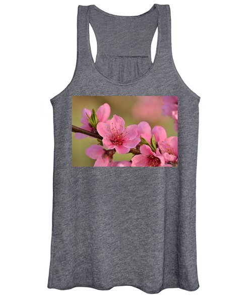 Peach Beautiful Women's Tank Top