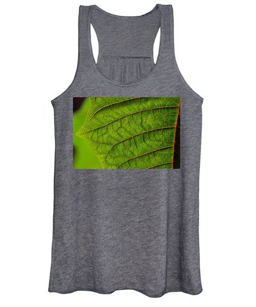 Poinsettia Leaf I Women's Tank Top