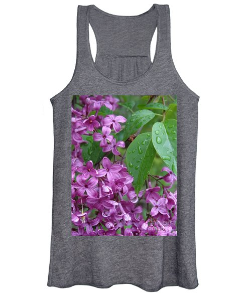 Purple Lilac Women's Tank Top