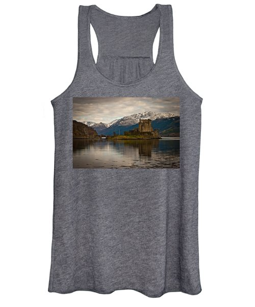 Reflection At Eilean Donan Women's Tank Top