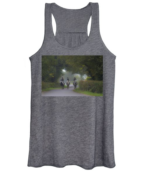 Riding In Tandem Women's Tank Top