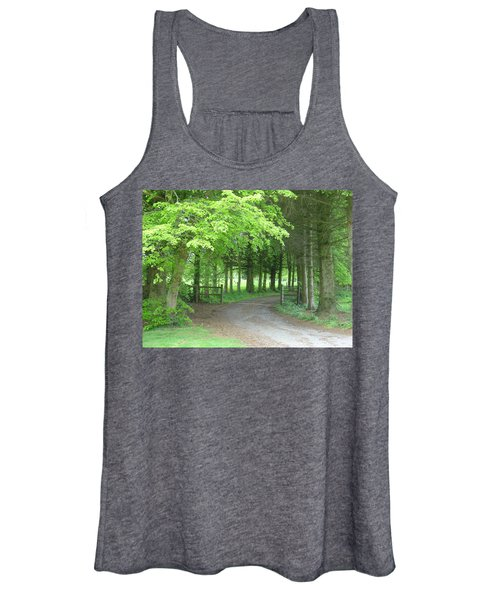 Road Into The Woods Women's Tank Top