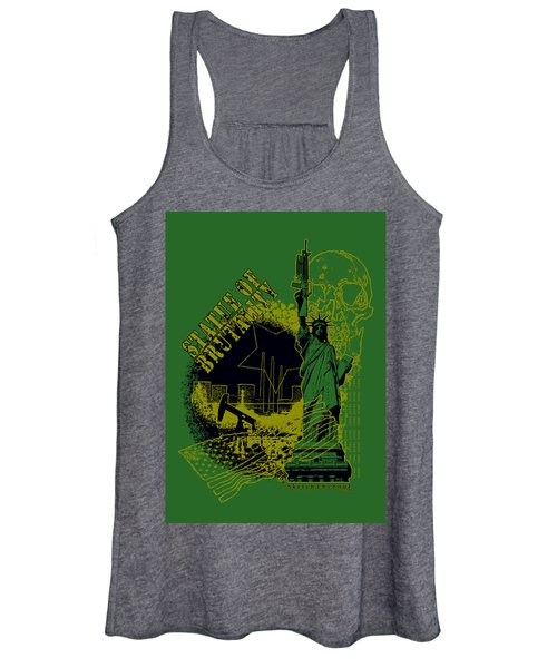 Statue Of Brutality  Women's Tank Top
