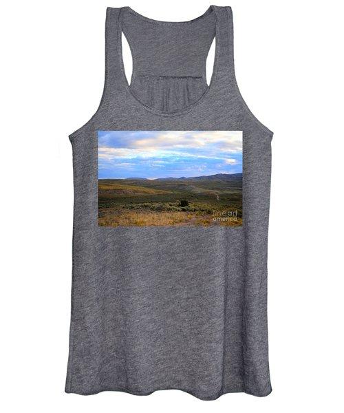 Stormy Wyoming Sunrise I Women's Tank Top