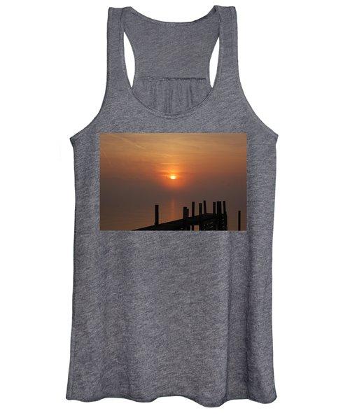Sunrise On The River Women's Tank Top