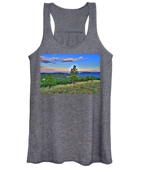 Sunset Mountain Women's Tank Top