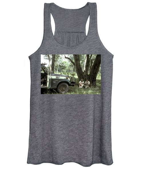 Taking Notes In Kenya, East Africa Women's Tank Top