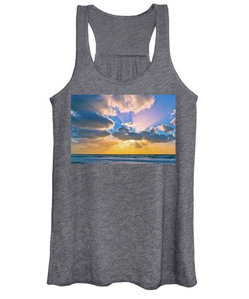 The Sea In The Sunset Women's Tank Top