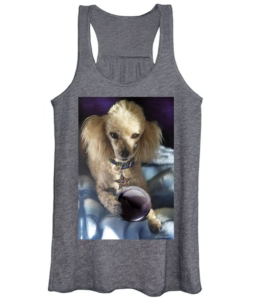 The Wizard Of Dogs Women's Tank Top