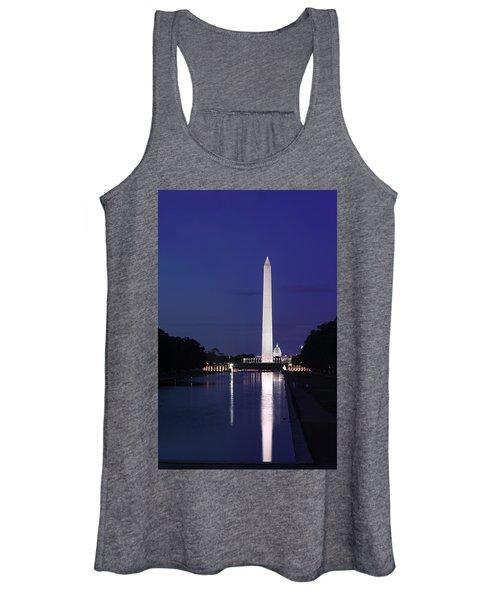 Washington Monument At Sunset Women's Tank Top