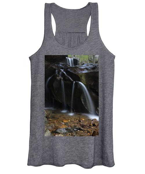 Waterfall On Emory Gap Branch Women's Tank Top