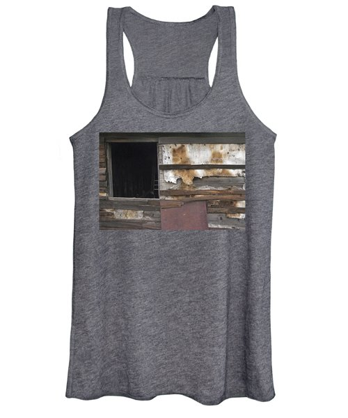 Weathered Shed Women's Tank Top