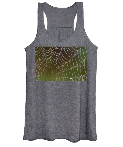 Web With Dew Women's Tank Top