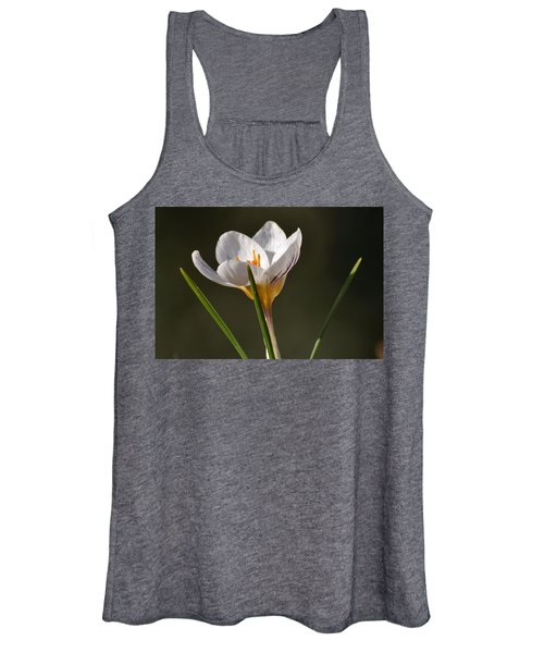 White Crocus Women's Tank Top