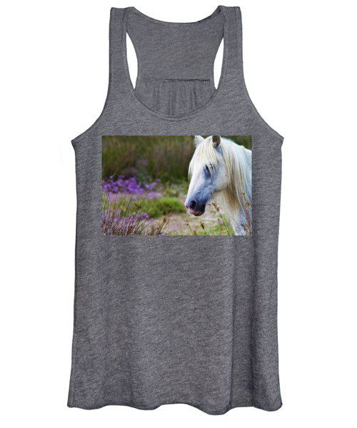 White Horse Women's Tank Top