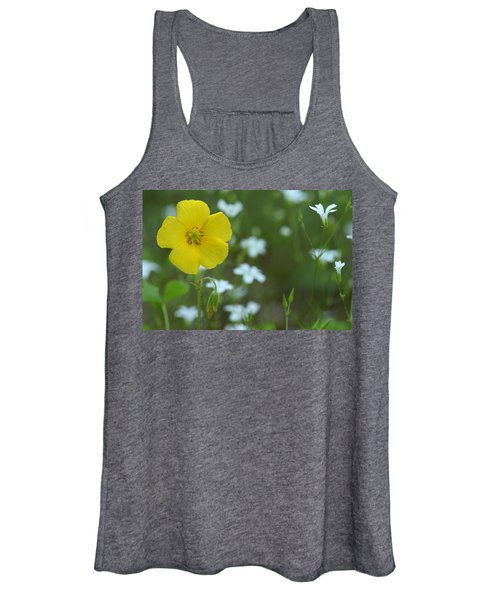 Wood Sorrel And Sandwort Women's Tank Top