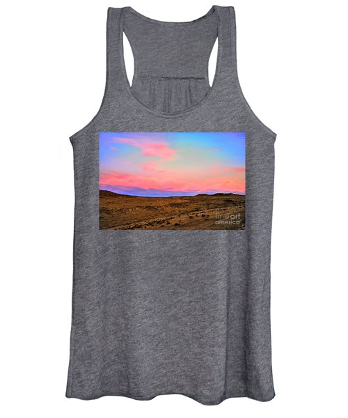 Wyoming Lights Women's Tank Top