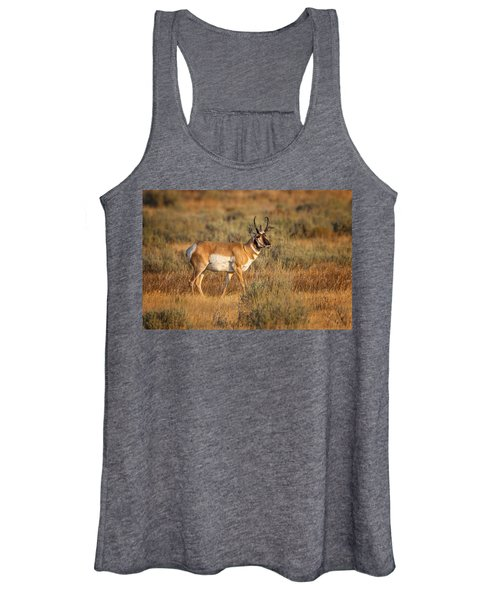 Wyoming Pronghorn Women's Tank Top