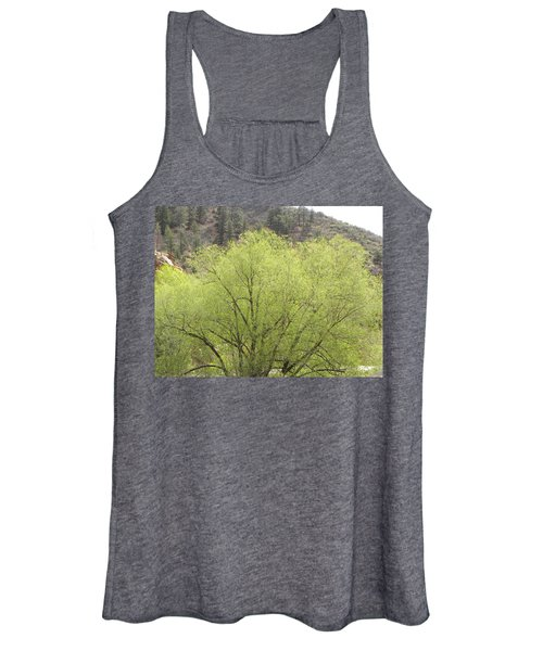 Tree Ute Pass Hwy 24 Cos Co Women's Tank Top