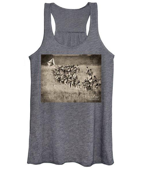 Gettysburg Confederate Infantry 9015s Women's Tank Top