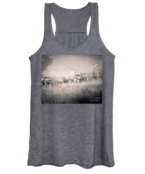 Gettysburg Confederate Infantry 9112s Women's Tank Top